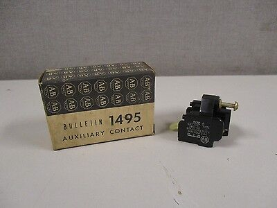 New Allen Bradley 1495-G0 Series L Auxiliary Contact