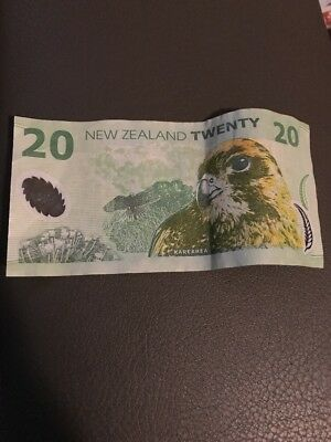 New Zealand $20 Note