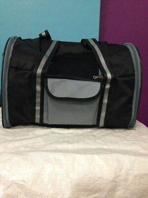 TRIXIE Marvin Backpack and Carrying Bag, Dog Transport 42 x29 x21cm, Black Grey