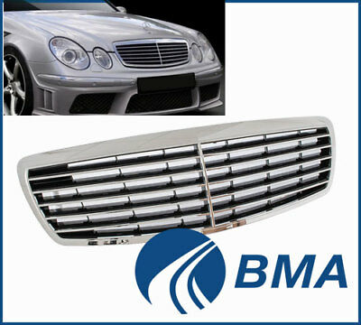 Mercedes Benz W211 E-Class 2002-2006 Avantgarde Front Grill Grille New