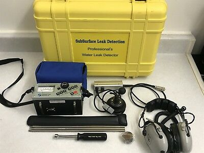SubSurface Instruments LD-12 Professional Water Leak Detector - Mint Condition