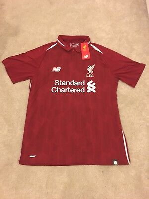 Liverpool Home Shirt 2018/2019 - Size Large (L) #M.SALAH 11