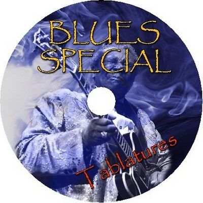 Blues Special Bass & Guitar Tab Cd Tablature Song Book Greatest Hits Rock Music