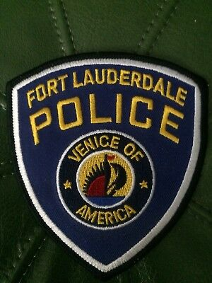 Florida Police- Ft Lauderdale   Police  FL Police Patch