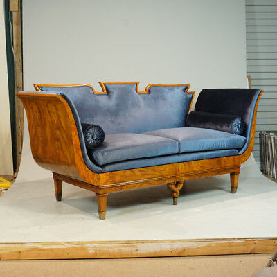 Beautiful and unique 2 seater Love seat made of stunning ash wood