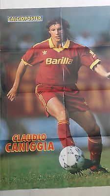 5 Poster 100X70 Cm As Roma 91/92