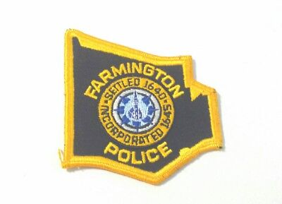 Farmington Connecticut Police Shoulder Patch