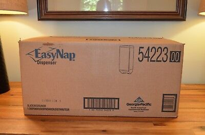 Georgia-Pacific 54223 EasyNap Napkin Dispenser, Black