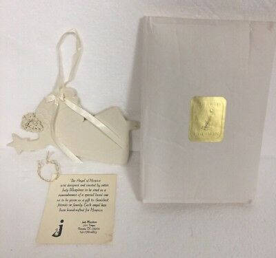 JUDY MURPHREE Angel of Hospice #2 Holding Star 2nd Edition Handcrafted Ornament