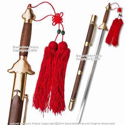"""31.5"""" Blade Functional Tai Chi Sword Martial Arts Practice with Copper Fittings"""