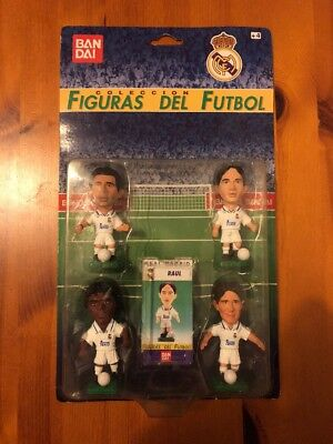 Corinthian Like Bandai Spanish Figures 1997 - Real Madrid 4 Pack Inc Raúl, Suker