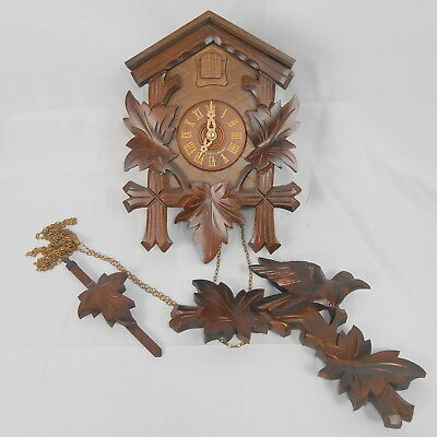 Authentic German Black Forest Cuckoo Clock ~ From Germany