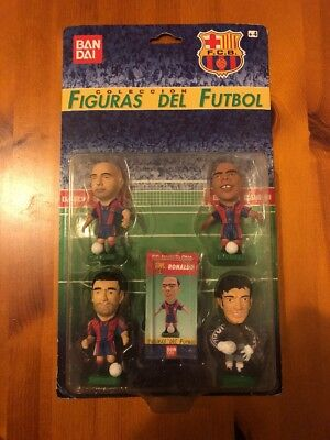 Corinthian Like Bandai Spanish 1997 - Barcelona 4 Pack Inc Ronaldo, Guardiola