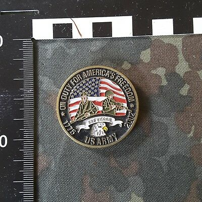 US Army Challenge Coin commemorative 2002   227 Years