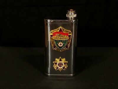USSR (CCCP) Russian 1950s? Commemorative Tank/Military Flask