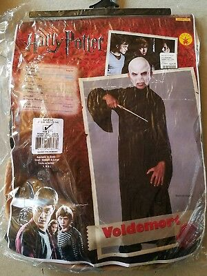 N NEW Child Rubies Harry Potter Voldemort Halloween Costume Size L