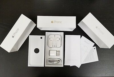iPhone 6 6 Plus Retail Box with OEM Accessories Earpod Charger USB Cable