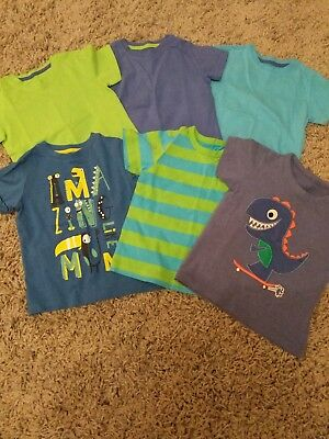 Boys Mothercare Tshirt Bundle. Size 2-3 Years. All Excellent Condition.