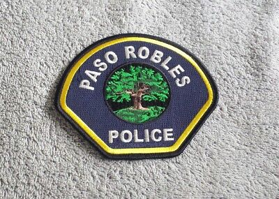 Paso Robles California Police Shoulder Patch