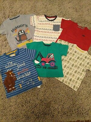 Boys Tshirt Bundle. Size 2-3 Years. Excellent Condition.