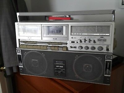 sharp GF-515 boom box