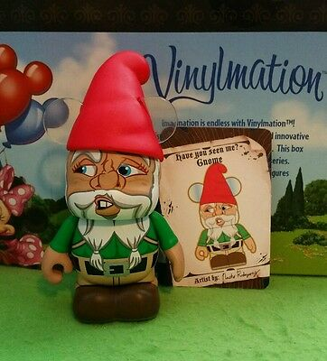 "DISNEY Vinylmation 3"" Park Set 1 Myths and Legends Gnome with Card"