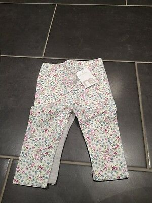 2 pairs of brand new with tags Mothercare girls leggings - 3-6 months