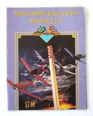 1990 Reno Air Race And Air Show Program