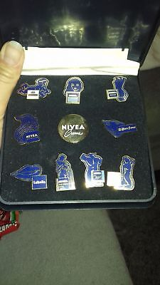 collection 10 pins nivéa edition limitee