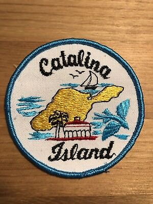 Vintage Catalina Island Patch NOS