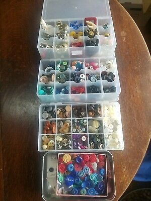 LARGE Button LOT Antique Vintage Collectible BUTTONS Sets Pairs CARDS OVER 7LBS!