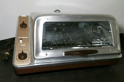 Vintage 1960s General Electric Rotisserie Oven 17R20 - Works well