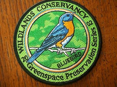 Pa Pennsylvania Game  Commission  Patch 2002 Bluebird  Wildlands Conservancy