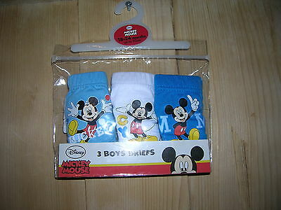 3-Pack Briefs for Boy 1,5-2 years Disney