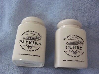 Maxwell & Williams - Homestead Collection - Paprika & Curry