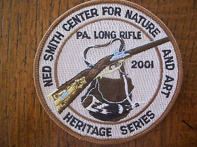 Pa  Pennsylvania Game Commission  Ned Smith  Patch 2001 Pa Long Rifle  Heritage