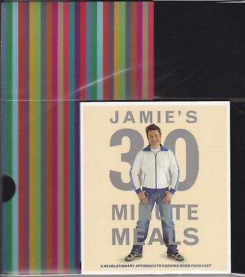 25 x Jamie's Oliver 30 Minute Meals (Mini Cookbook Collection) + Boxes -Bulk lot