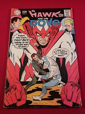 Hawk And The Dove #2 D C Comiic Vg+ Also Appear  In Teen Titans Auction Now