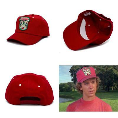 Bushwood Hat Country Club Caddyshack Movie One Size Baseball Cap Red a3886cb0ce18
