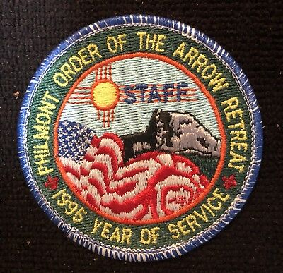 Staff Philmont Order of the Arrow Retreat 1995