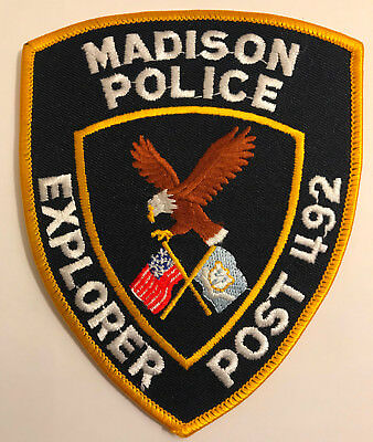 Madison Explorer Post 492 New Haven County Connecticut Police Sheriff Patch