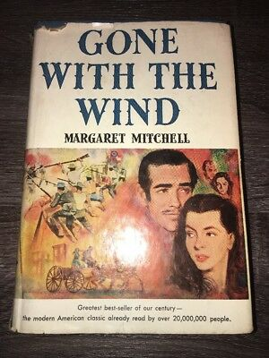Gone With The Wind by Margaret Mitchell 1964 Hardcover / Dust Jacket