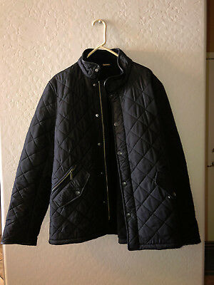 Barbour Men's Powell Quilted jacket in black size large
