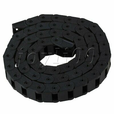 R28 Bridge Strengthen Nylon Cable Drag Chain Wire 10x15mm Black