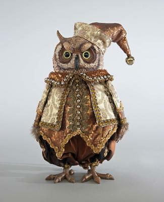 Katherine's Collection - Holiday Celebrations Tabletop Owl - Christmas 18-744743