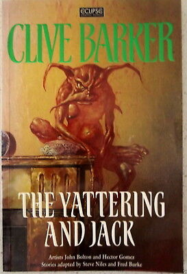 Clive Barker The Yattering and Jack   Graphic Novel