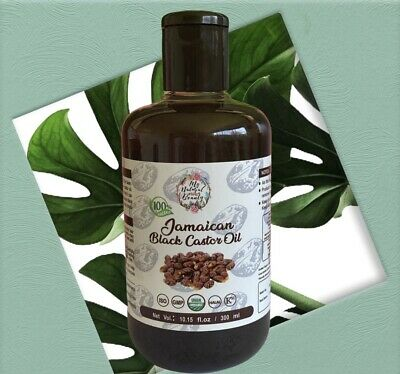 100% PURE JAMAICAN BLACK CASTOR OIL -HAIR GROWTH TREATMENT FOR HAIR LOSS100ml