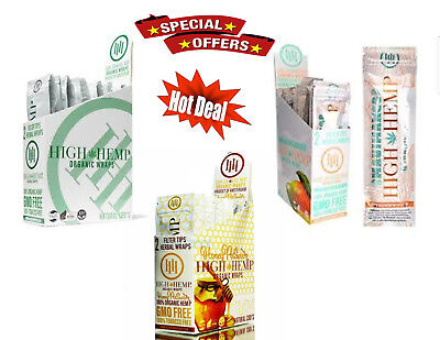 "High Hemp Organic Wrap COMBO DEAL - ""HONEYSWIRL, MAUI MANGO & ORGANIC ORIGINAL"""