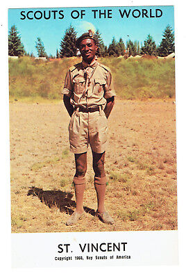St. Vincent Scouts of the World series cc 1968 Boy Scouts of America