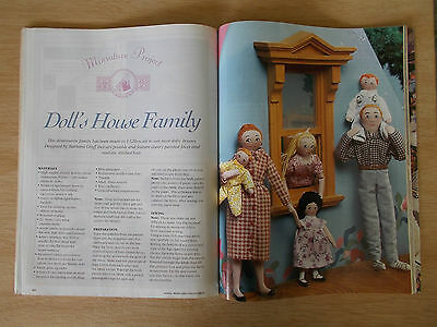 ADB&C Vol 7 #4~Doll & Bear Patterns~Penny~Dougall~Doll's House Family~Giselle